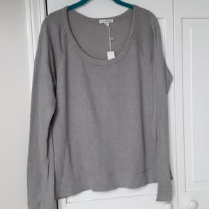 NWT James Perse size 3 vintage fleece tee